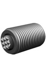 Threaded Body - Steel Ball - Serrated