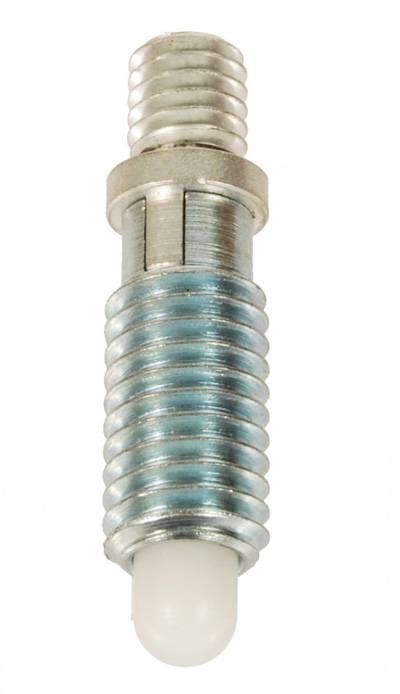 Threaded Adapter-Locking-Radiused Delrin Nose-Metric