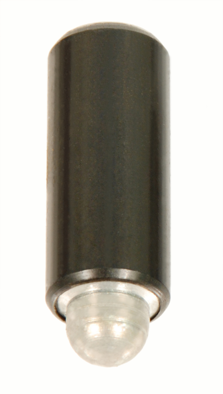 Steel and Stainless Steel Press-Thru™ Spring Plungers with Light Pressure